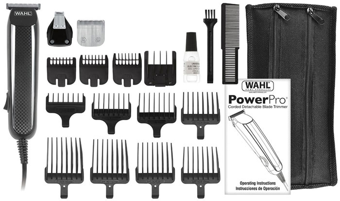 Wahl POWER PRO GROOMING KIT Corded Beard Trimmers