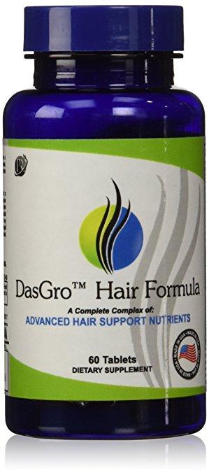 DasGro Hair Growth Vitamins with Biotin