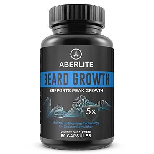 Aberlite Beard Growth Dietary Supplements