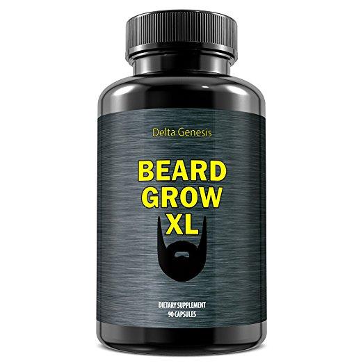 Beard Grow XL Facial Hair Supplement