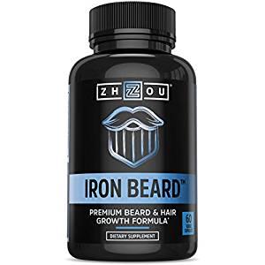 Iron Beard Growth Vitamin Supplement