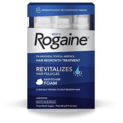 Men's Rogaine Minoxidil Foam