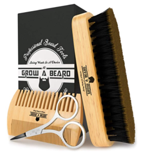 Beard Brush Comb Set